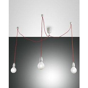 FABAS BLOG SUSPENSION LAMP WHITE 3 LIGHTS