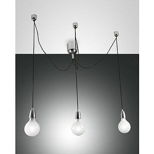 FABAS BLOG SUSPENSION LAMP CHROMED 3 LIGHTS