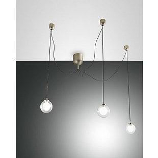 FABAS BLOG LED SUSPENSION LAMP GOLD MATT 3 L.