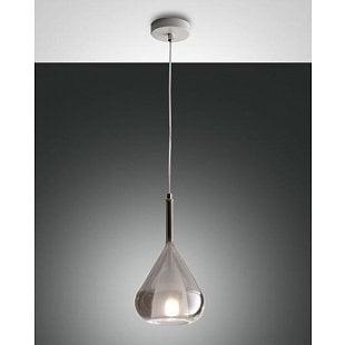 FABAS LILA SUSP.LAMP TRANSP.GREY