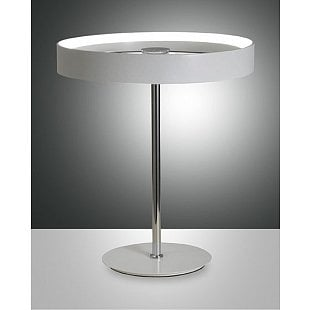 FABAS DOUBLE TABLE LAMP WHITE