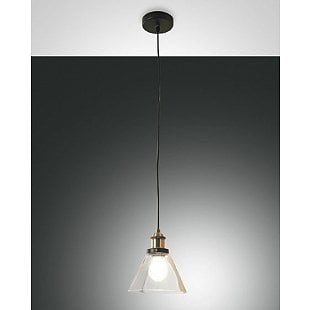FABAS BLEN SUSPENSION LAMP TRANSPARENT