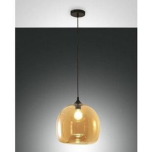 FABAS MAIA SUSPENSION LAMP AMBER