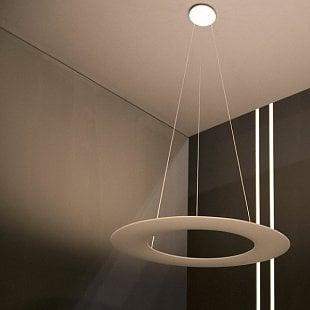 MADE Kyklos P1 biela LED