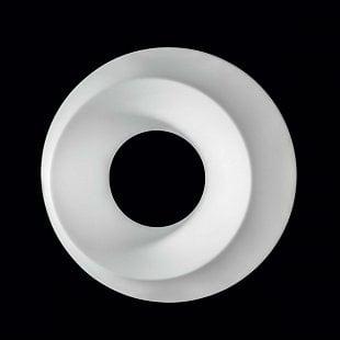 MADE Oblix biela LED