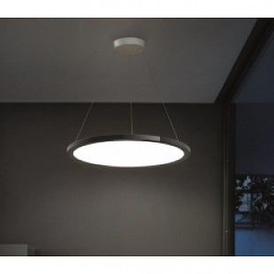 MADE Hinomaru P čierna LED
