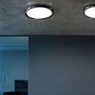 MADE Hinomaru S čierna LED