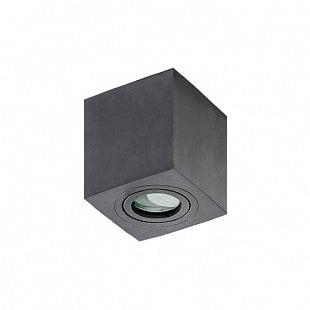 AZZARDO Brant Square IP44 black