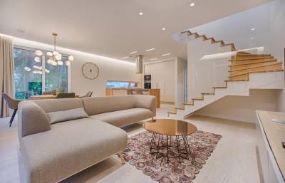 Osvetlenie obývacej izby